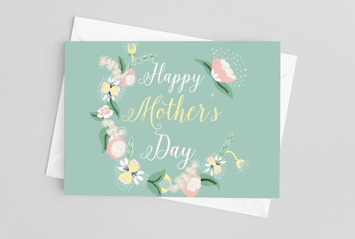 """<h2><a href=""""https://www.etsy.com/listing/992243038/happy-mothers-day-cards-a-set-of-5-cards"""" rel=""""nofollow noopener"""" target=""""_blank"""" data-ylk=""""slk:Lovely Earthlings Mother's Day Set of Cards"""" class=""""link rapid-noclick-resp"""">Lovely Earthlings Mother's Day Set of Cards<br></a></h2><br>Sometimes simply finding the right words to put in a themed greeting card is more than enough for the sentimental recipient. <br><br><strong>LovelyEarthlings</strong> Happy Mother's Day Cards (Set of 5), $, available at <a href=""""https://go.skimresources.com/?id=30283X879131&url=https%3A%2F%2Fwww.etsy.com%2Flisting%2F992243038%2Fhappy-mothers-day-cards-a-set-of-5-cards"""" rel=""""nofollow noopener"""" target=""""_blank"""" data-ylk=""""slk:Etsy"""" class=""""link rapid-noclick-resp"""">Etsy</a>"""