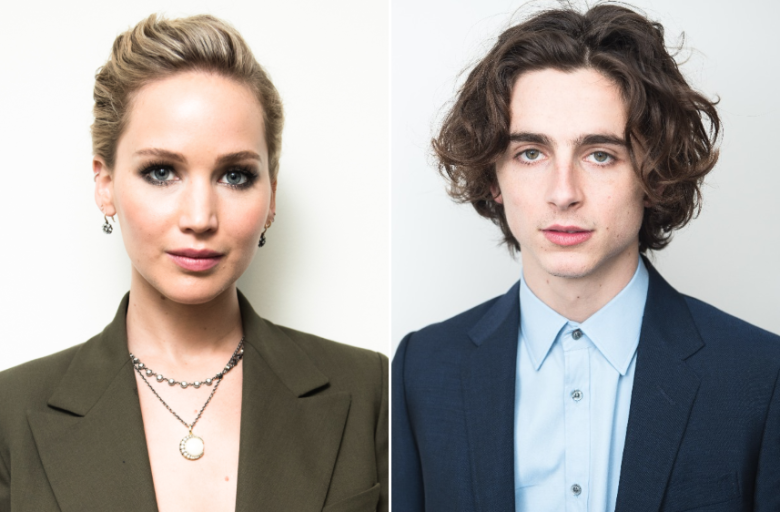 Jennifer Lawrence Is Also Obsessed With Timothée Chalamet: 'I'm