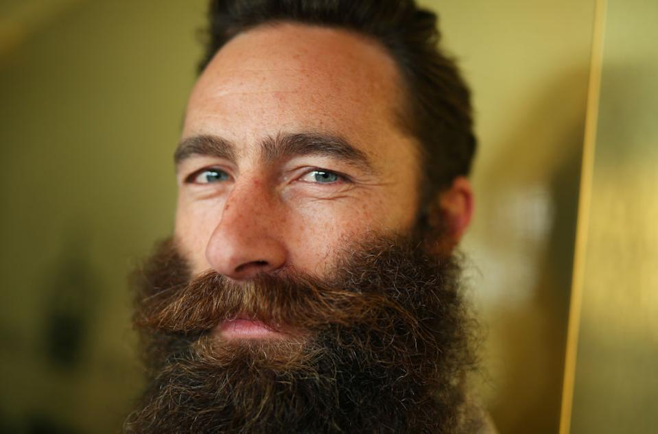Jimmy Niggles, before he shaved off his million-dollar beard. (Source: Getty)