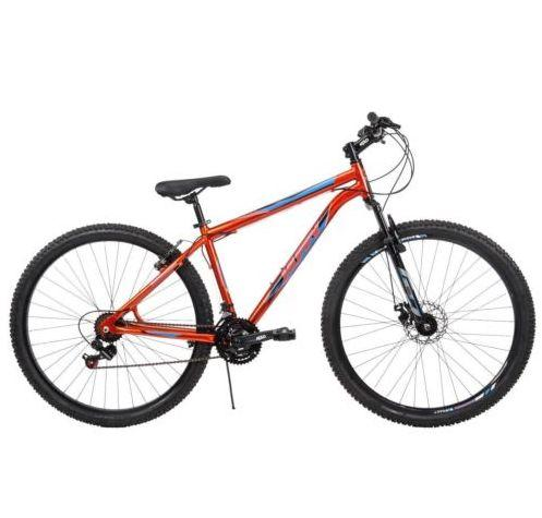 "Original price: $250<br />Sale price: <a href=""https://www.ebay.com/itm/Huffy-Bantam-29-21-Speed-Aluminum-Mountain-Bicycle-Orange-/152731427821?hash=item238f80a3ed:g:2ZMAAOSw4kVZrvAS"" target=""_blank"">$165</a>"