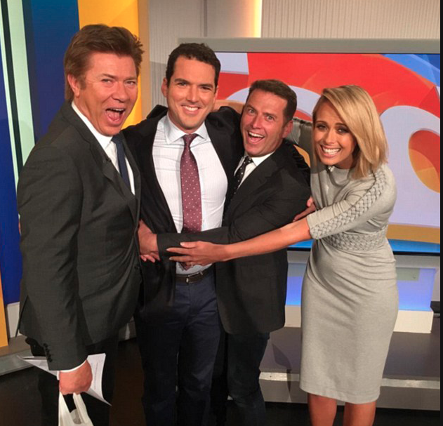 His departure comes just one day after his brother, Peter Stefanovic stepped away from the channel after 15 years. Photo: Instagram/TheTodayShow