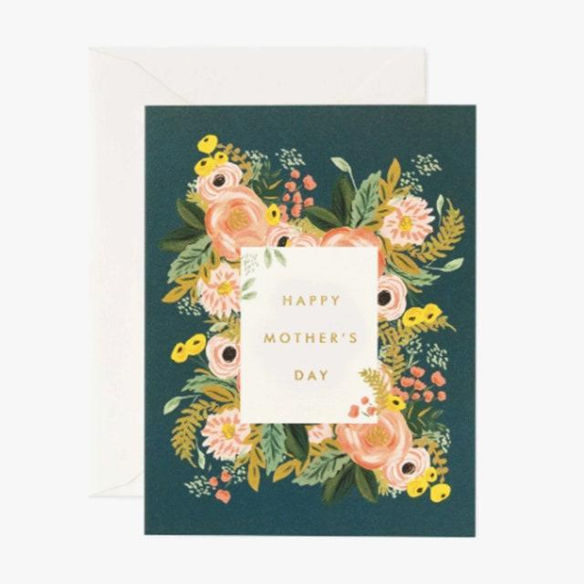"$5, riflepaperco.com. <a href=""https://riflepaperco.com/bouquet-mothers-day-greeting-card"" rel=""nofollow noopener"" target=""_blank"" data-ylk=""slk:Get it now!"" class=""link rapid-noclick-resp"">Get it now!</a>"