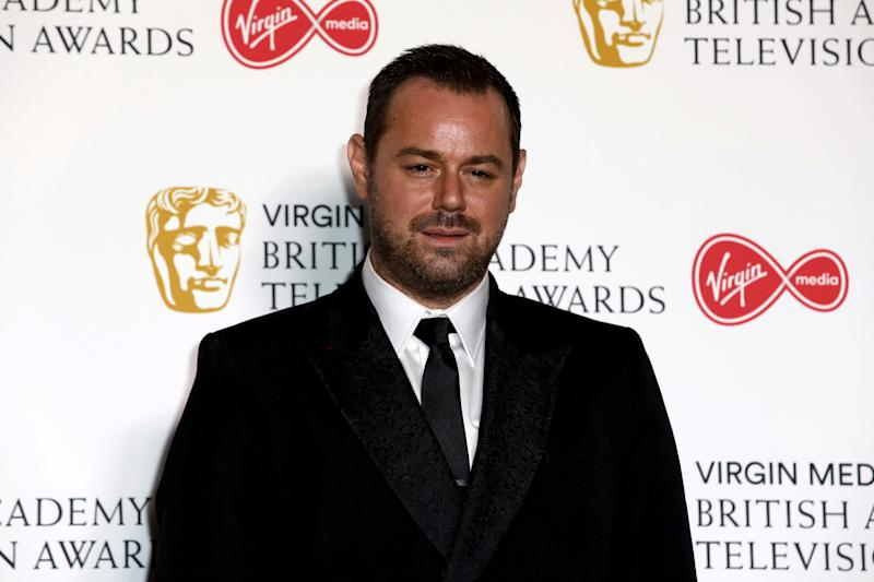 Actor Danny Dyer poses for photographers at the 2019 BAFTA Television Awards in London, Sunday, May 12, 2019.(Photo by Grant Pollard/Invision/AP)