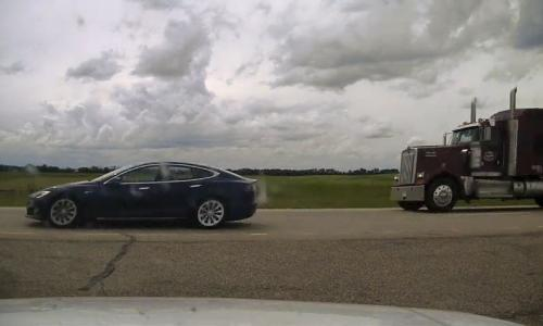 Tesla driver found asleep at wheel of self-driving car doing 150km/h