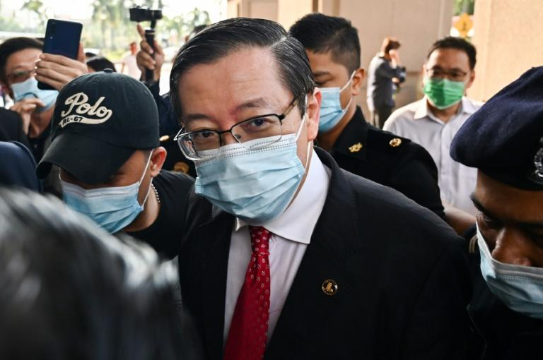 Malaysian ex-finance minister charged in graft case