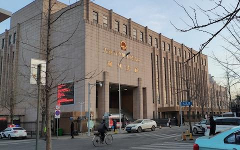Intermediate People's Court of Dalian, where the trial for Robert Lloyd Schellenberg was held - Credit: REUTERS/Stringer
