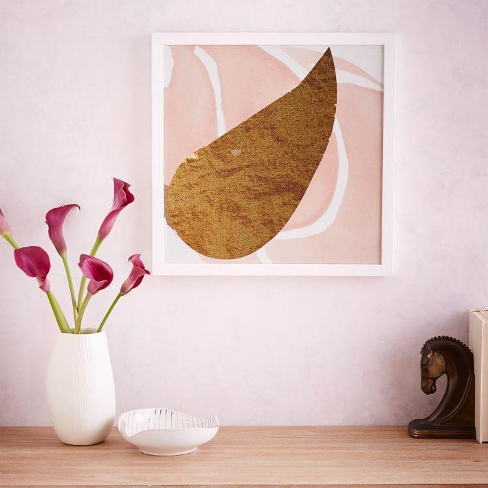 """<p>This funky print has an eye-catching color combo that will spice up your wall.</p><p><strong>The Arts Capsule</strong> Ink Print, $149, available at <a href=""""http://www.westelm.com/products/771365/?catalogId=71&sku=771365"""" rel=""""nofollow noopener"""" target=""""_blank"""" data-ylk=""""slk:West Elm"""" class=""""link rapid-noclick-resp"""">West Elm</a></p>"""