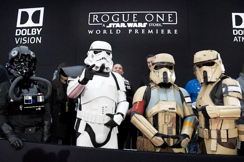 """Rogue One"" pulled in $22 million, according to box office monitor Exhibitor Relations, bringing its four-week total to $477.3 million"