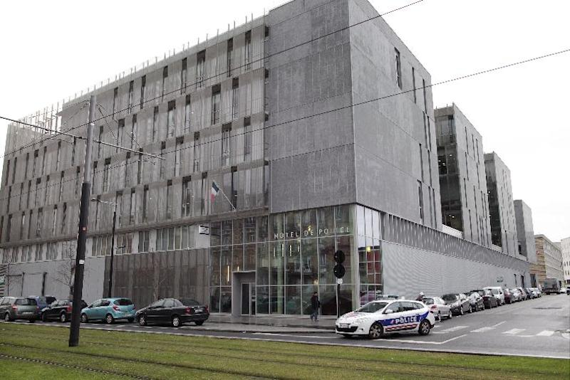 View of the police headquarters in Le Havre, northwestern France, on December 15, 2014 (AFP Photo/Charly Triballeau)