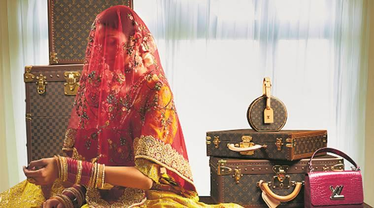 Vogue wedding show, bridal collection, bridal fashion, wedding season, fashion and lifestyle, indian express