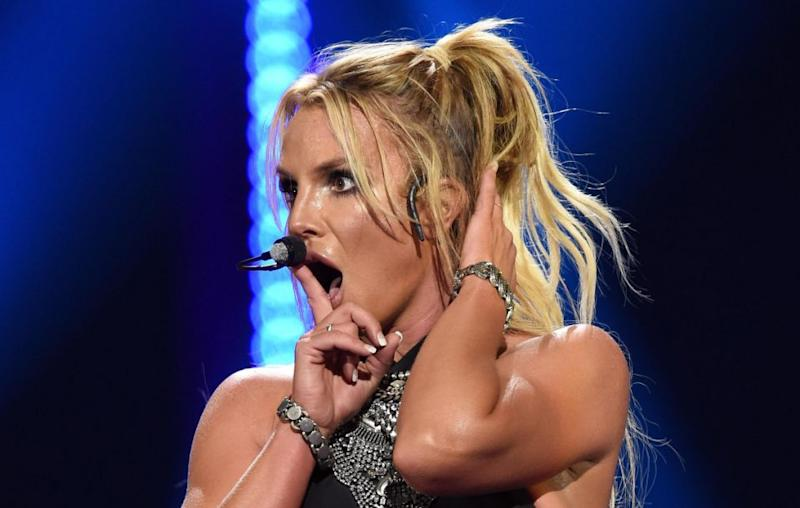 Britney with no auto-tune. What?! Source: Getty