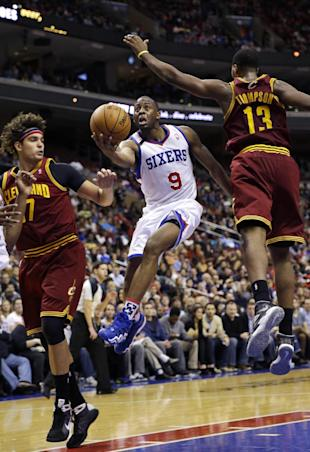 Can Anderson Varejao (left) and Tristan Thompson protect the rim? (AP/Matt Slocum)