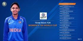BCCI announces India's squad for ICC Women's T20 World Cup