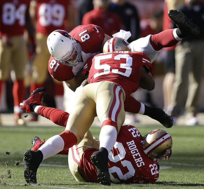 49ers LB Patrick Willis to play through pain again