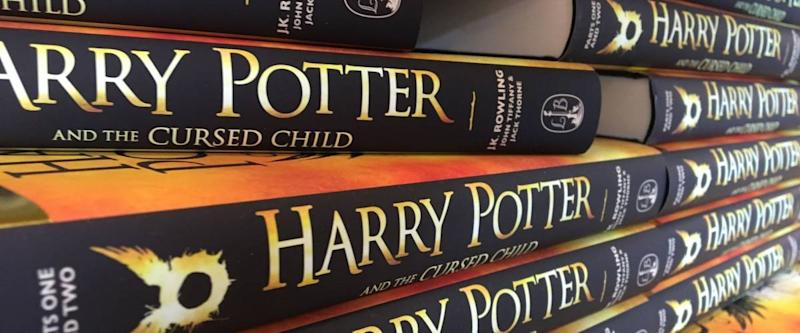 Kuala Lumpur, August 10, 2016. The book 'Harry Potter and the Cursed Child - Parts One & Two (Special Rehearsal Edition)'