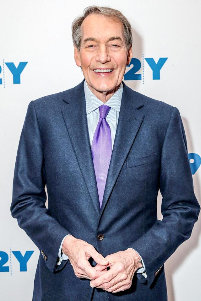 Charlie Rose attends the <em>Fifty Years of 60 Minutes</em> book launch event at 92nd Street Y on Nov. 6, 2017, in New York City. (Photo: CJ Rivera/Getty Images)