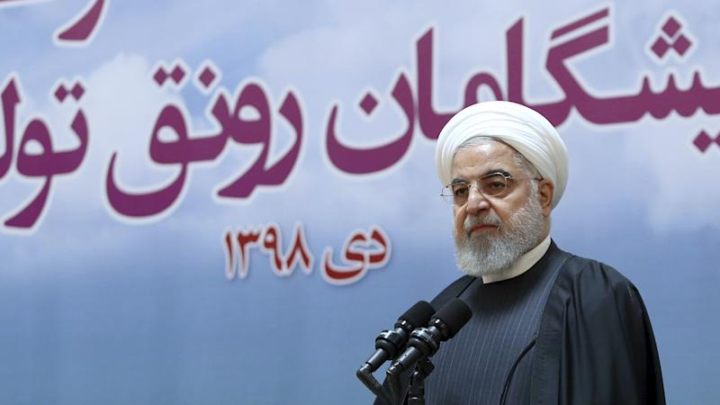 Iranian president says 'no limit' to nuclear enrichment