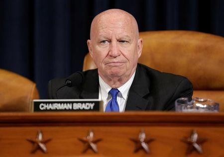 Chairman of the House Ways and Means Committee Kevin Brady (R-TX) sits during the markup of the American Health Care Act, the Republican replacement to Obamacare, on Capitol Hill in Washington, U.S., March 8, 2017.      REUTERS/Joshua Roberts
