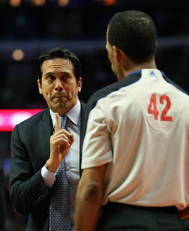Erik Spoelstra, Miami Heat (Photo by Jonathan Daniel/Getty Images)