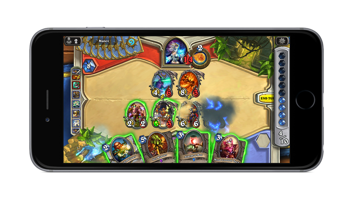 Play Hearthstone on your iPhone or Android phone starting today