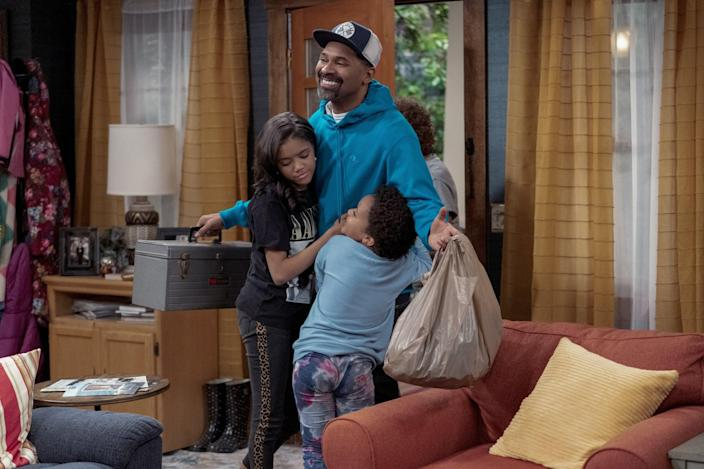 """<p>This funny, new sitcom <strong>The Upshaws</strong> will keep you laughing with its humor about a working-class Black family in Indiana. They just want what everyone wants: a better life and a happy home.</p> <p><a href=""""https://www.netflix.com/title/81028174"""" class=""""link rapid-noclick-resp"""" rel=""""nofollow noopener"""" target=""""_blank"""" data-ylk=""""slk:Watch The Upshaws on Netflix"""">Watch <strong>The Upshaws</strong> on Netflix</a>.</p>"""