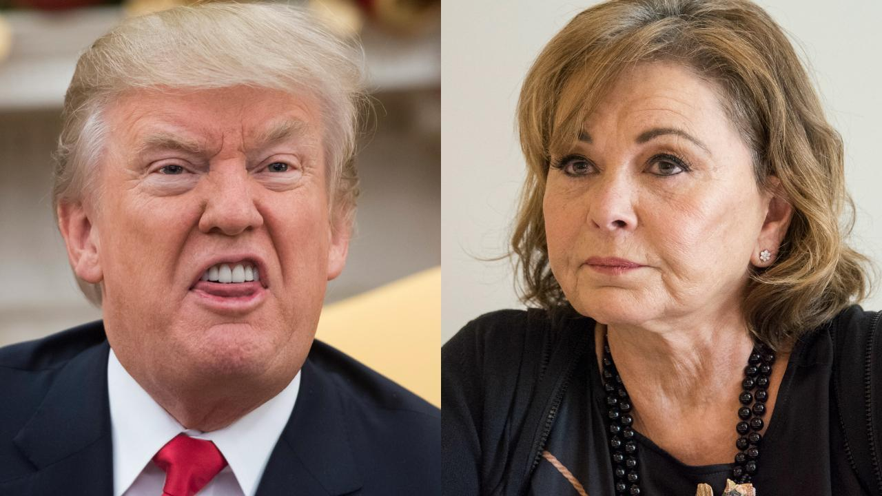 b4d9bf9af Trump blasts ABC; makes Roseanne firing all about himself [Video]