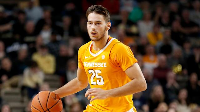 "One Auburn student yelled ""go back to Uruguay"" at Tennessee's Santiago Vescovi on Saturday afternoon, and could be heard clearly on the broadcast. (AP/Mark Humphrey)"