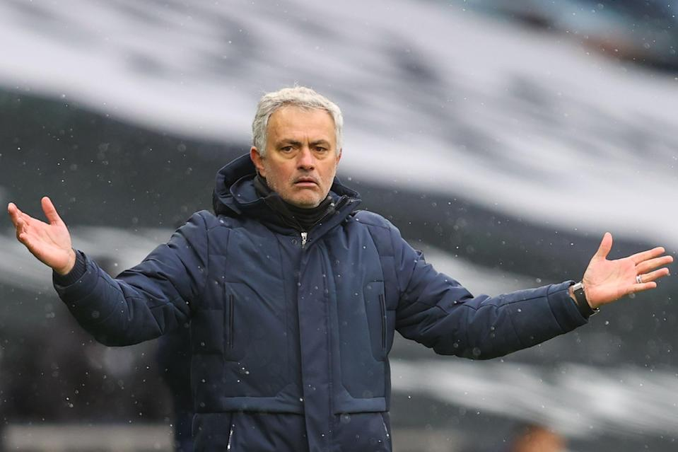 Jose Mourinho was sacked as Tottenham manager on MondayPOOL/AFP via Getty Images