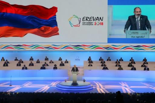 Armenian Prime Minister Nikol Pashinyan opens the 17th Francophone countries summit in Yerevan, which will consider expanding its influence by admitting new members