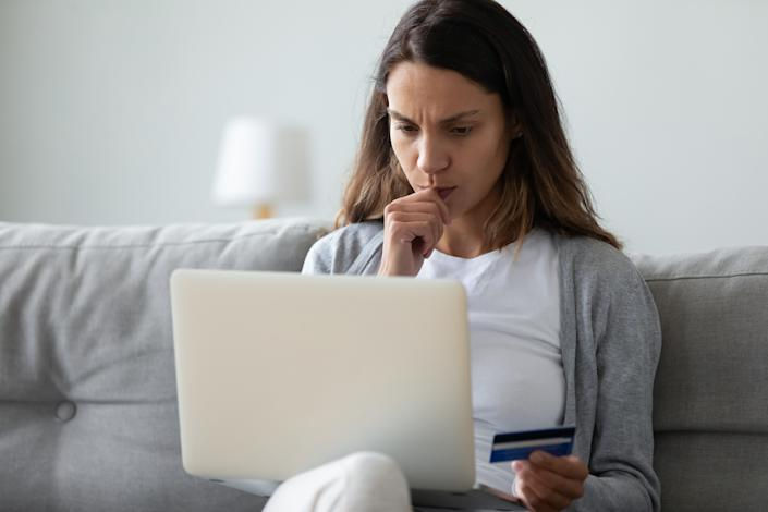 You're shopping online, but is your computer secure? (Photo: Getty)
