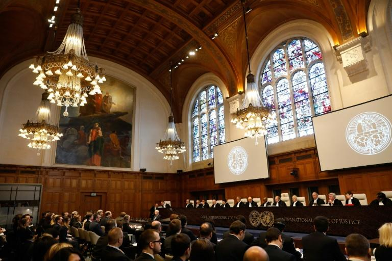 The International Court of Justice has yet to decide whether it will take up the main case lodged by Kiev in January