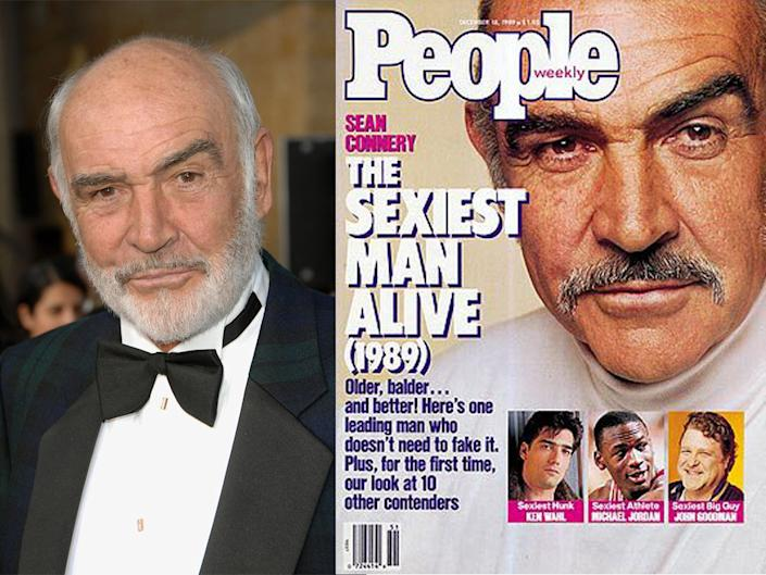 sean connery people sexiest man