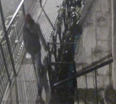 CCTV image of the attacker