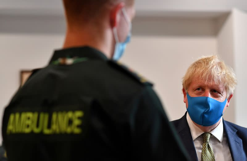 Have a staycation in 'superlative' UK, Johnson says