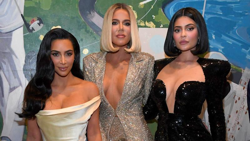 Kim and Khloe Kardashian Share Cousin Pic of 'The Triplets': See True, Chicago and Stormi!