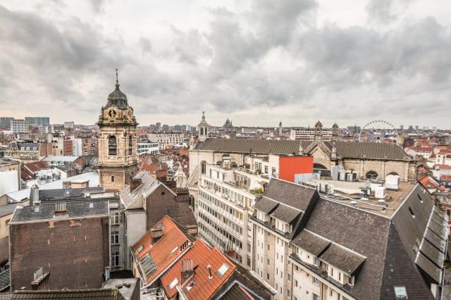 Old city of Brussels