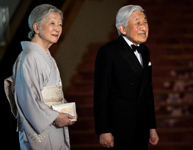 Japan's emperor Akihito and his wife Empress Michiko are seen as being the more accessible face of a monarchy that largely remains in the shadows, unlike the British royals