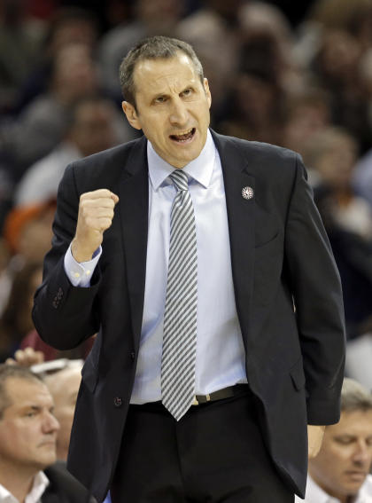 David Blatt was fired with the Cavs sitting in first place in the Eastern Conference. (AP)