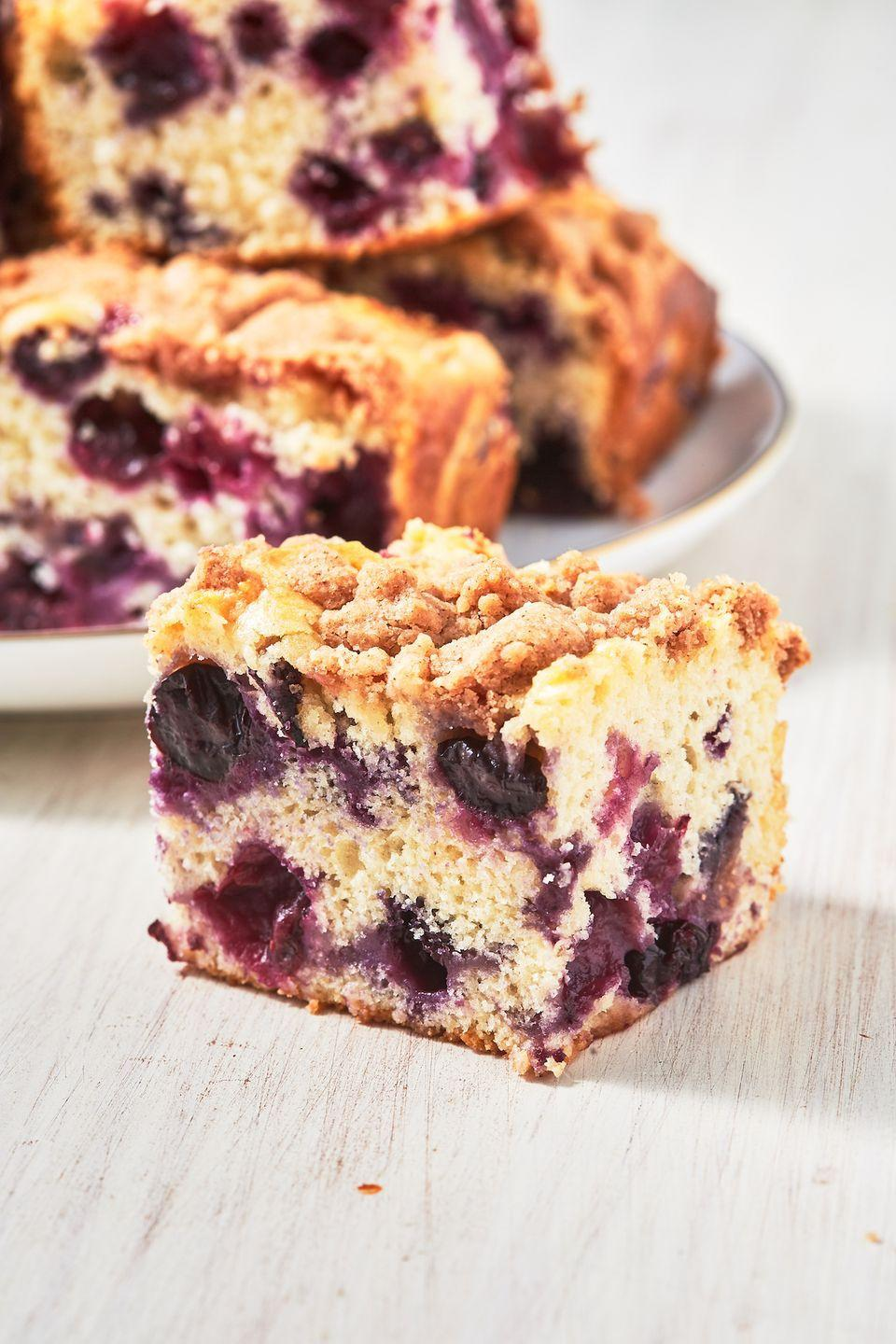 """<p>Cake for breakfast anyone?</p><p>Get the recipe from <a href=""""https://www.delish.com/cooking/recipe-ideas/a27920478/blueberry-buckle-recipe/"""" rel=""""nofollow noopener"""" target=""""_blank"""" data-ylk=""""slk:Delish"""" class=""""link rapid-noclick-resp"""">Delish</a>.</p>"""