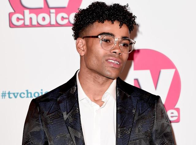 Malique Thompson-Dwyer has said sorry for attending an illegal rave. (Getty Images)