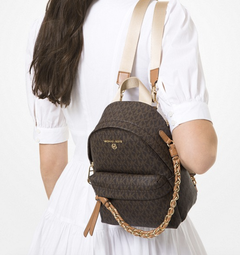 Slater extra-small logo convertible backpack, S$449. PHOTO: Michael Kors
