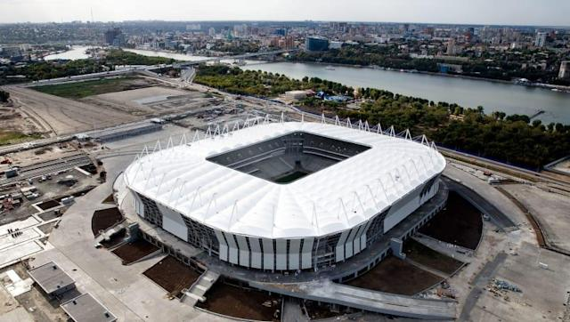 <p>Rostov Arena, Rostov-on-Don<br>Year opened: 2018<br>Capacity: 45,000<br>Which games: Four group games, one last 16 tie.<br>Fun fact: Regarded as one of Russia's most dangerous regions – crime there rose 21.5 per cent in 2015. </p>