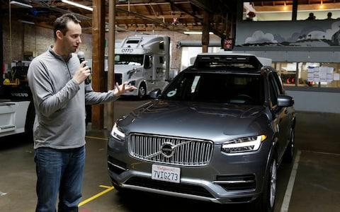 Anthony Levandowski was fired from Uber last year - Credit: AP