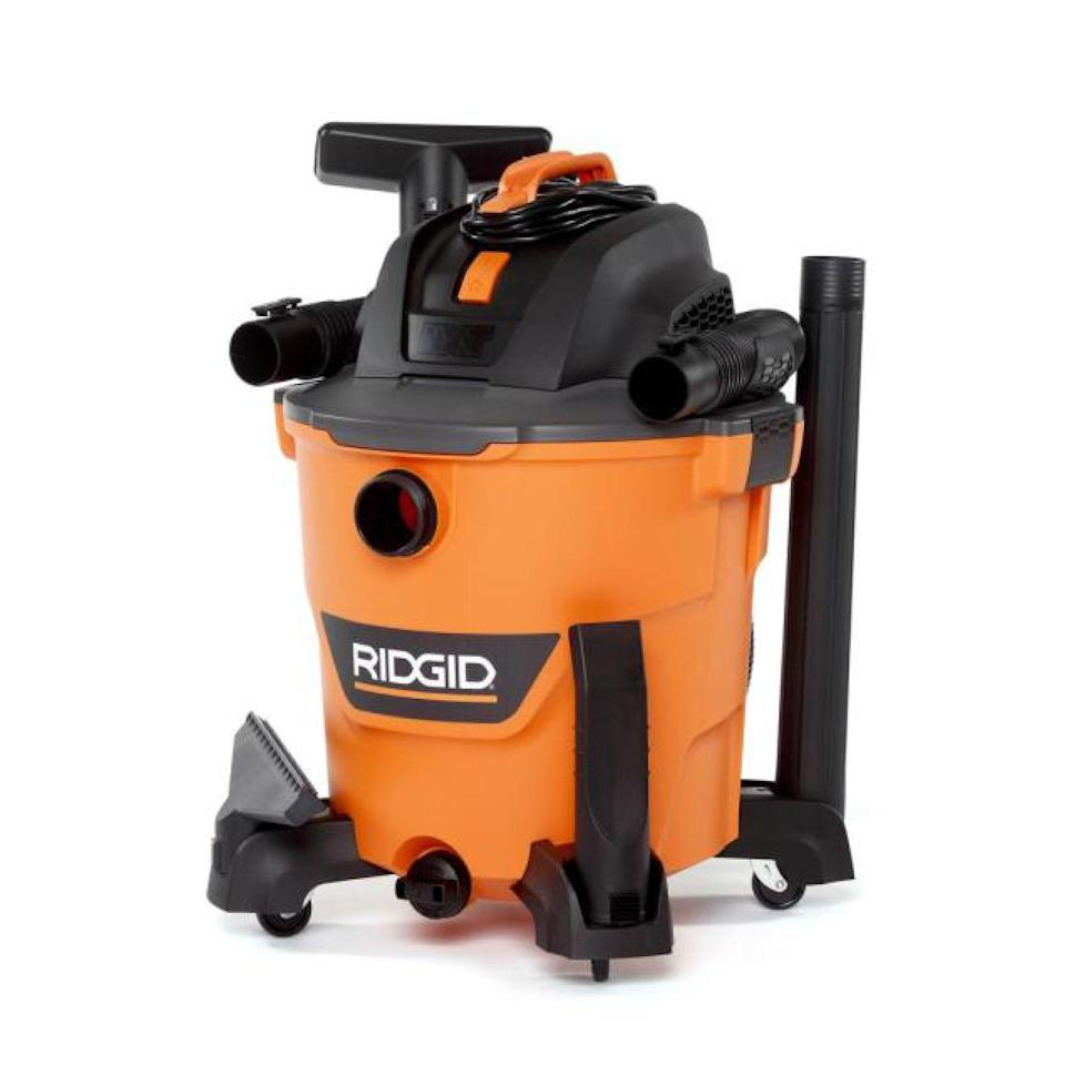 "<p><strong>RIDGID</strong></p><p>homedepot.com</p><p><strong>$69.97</strong></p><p><a href=""https://go.redirectingat.com?id=74968X1596630&url=https%3A%2F%2Fwww.homedepot.com%2Fp%2FRIDGID-12-Gal-5-0-Peak-HP-NXT-Wet-Dry-Shop-Vacuum-with-Filter-Hose-and-Accessories-HD1200%2F304006023&sref=https%3A%2F%2Fwww.redbookmag.com%2Flife%2Fg34807098%2Fbest-black-friday-deals-tools%2F"" rel=""nofollow noopener"" target=""_blank"" data-ylk=""slk:Shop Now"" class=""link rapid-noclick-resp"">Shop Now</a></p><p>Keep your Hoover inside and leave the real messes to this tough cookie. Ridgid's vacuum can handle both wet and dry messes, which makes it great for straightening up after a big project or when spring cleaning comes around.</p>"