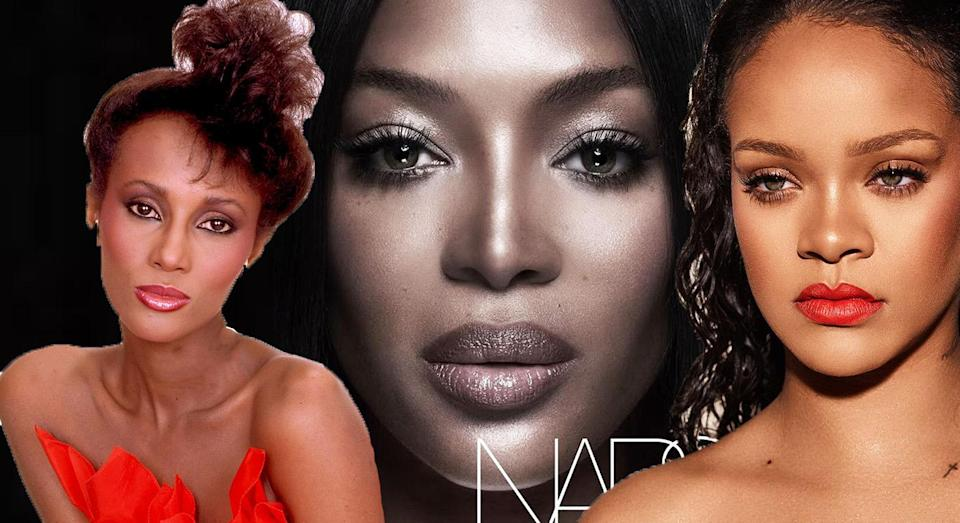 Naomi Campbell has landed her first beauty campaign, but the industry still lacks diversity. [Photo: Getty/Instagram]