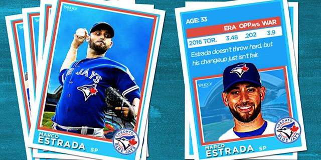 <p>No one has performed in big games for the Blue Jays lately like this man. </p>