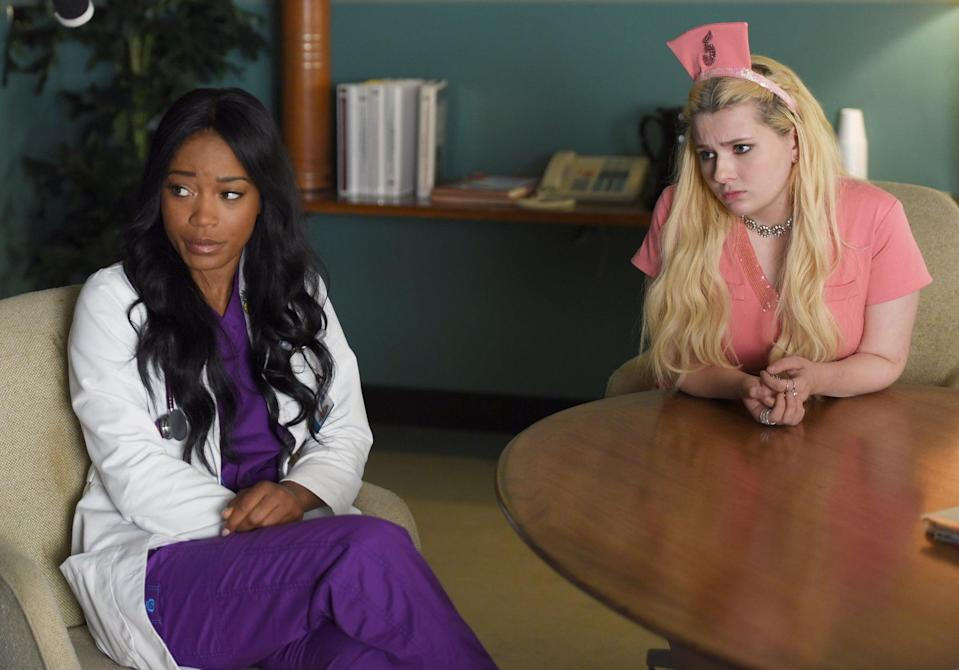 <p>This Ryan Murphy-produced satirical slasher series revolves around the fictitious Wallace University and a vicious serial killer, who decides to make the sorority sisters of Kappa Kappa Tau his target. Despite the incredibly stacked cast, Fox failed to renew this one for a third season in 2017, though fans are still holding out hope that Murphy will find <strong>Scream Queens</strong> a new home for season three. </p>