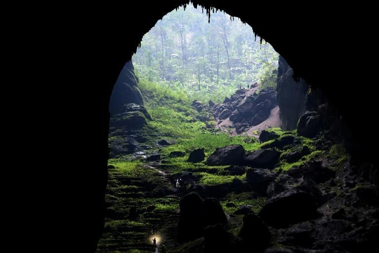 Home to flying foxes and a 70-metre rock formation resembling a dog's paw, Son Doong is an otherworldly wonder that has reshaped the lives of the surrounding community