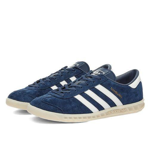 "<p><a class=""link rapid-noclick-resp"" href=""https://www.endclothing.com/gb/adidas-hamburg-w-ef5788.html"" rel=""nofollow noopener"" target=""_blank"" data-ylk=""slk:SHOP"">SHOP</a></p><p>It's easy to mistrust sale items as the stuff nobody wants. But the people always want Adidas, especially the classic Originals line in nice, little-bit-smarter suede colourways – and they want it even more when it's 30 per cent off.</p><p>Hamburg W Marine, <del>£85</del> £55, <a href=""https://www.endclothing.com/gb/adidas-hamburg-w-ef5788.html"" rel=""nofollow noopener"" target=""_blank"" data-ylk=""slk:endclothing.com"" class=""link rapid-noclick-resp"">endclothing.com</a> </p>"