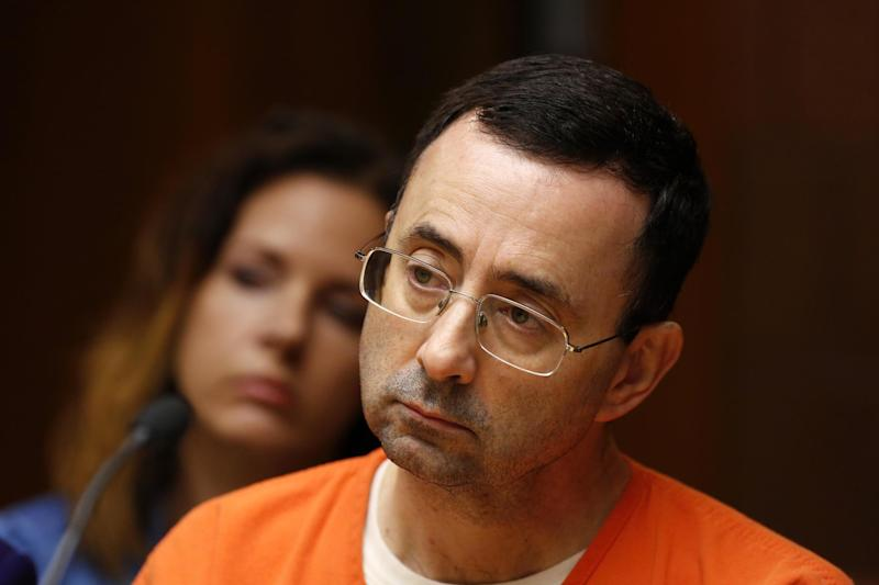 USA gymnastics doctor Larry Nassar confessed to the crimes in court: AFP/Getty Images
